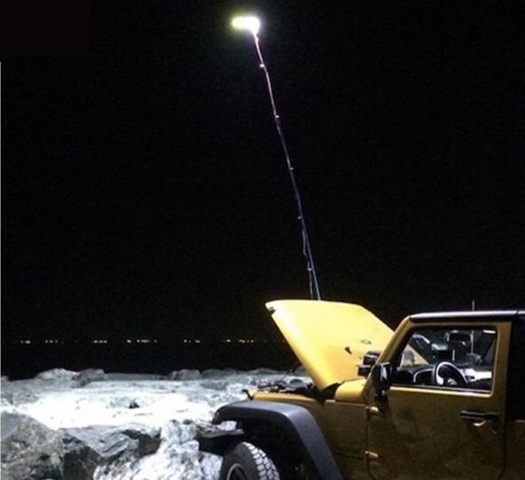 Συνδέστε το καλάμι ψαρέματος